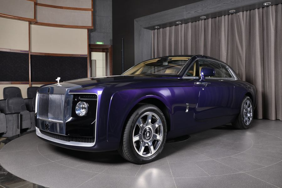 13 Million Rolls Royce Sweptail Photographed At Bmw Abu