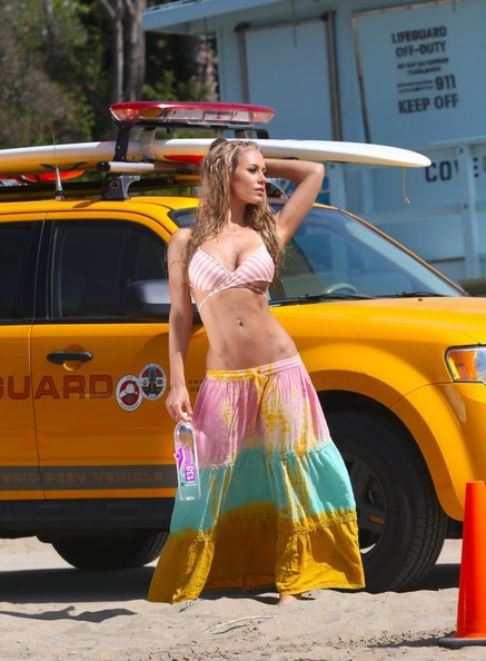 138 Water Photo Shoot Brings Forth A Bright Yellow Ford