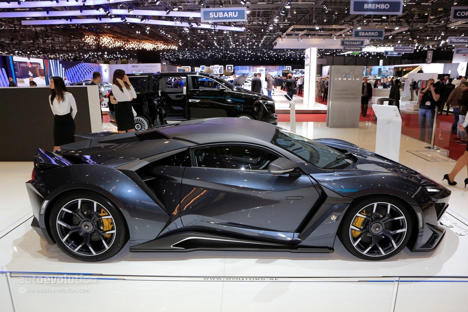W Motors Fenyr >> $1.4 Million W Motors Fenyr SuperSport Production Model Brings Dubai to Geneva - autoevolution