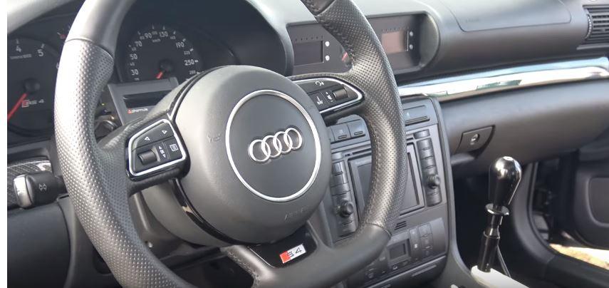 Pink Audi S4 Gets Amazing Two-Tone Plasti Dip - autoevolution