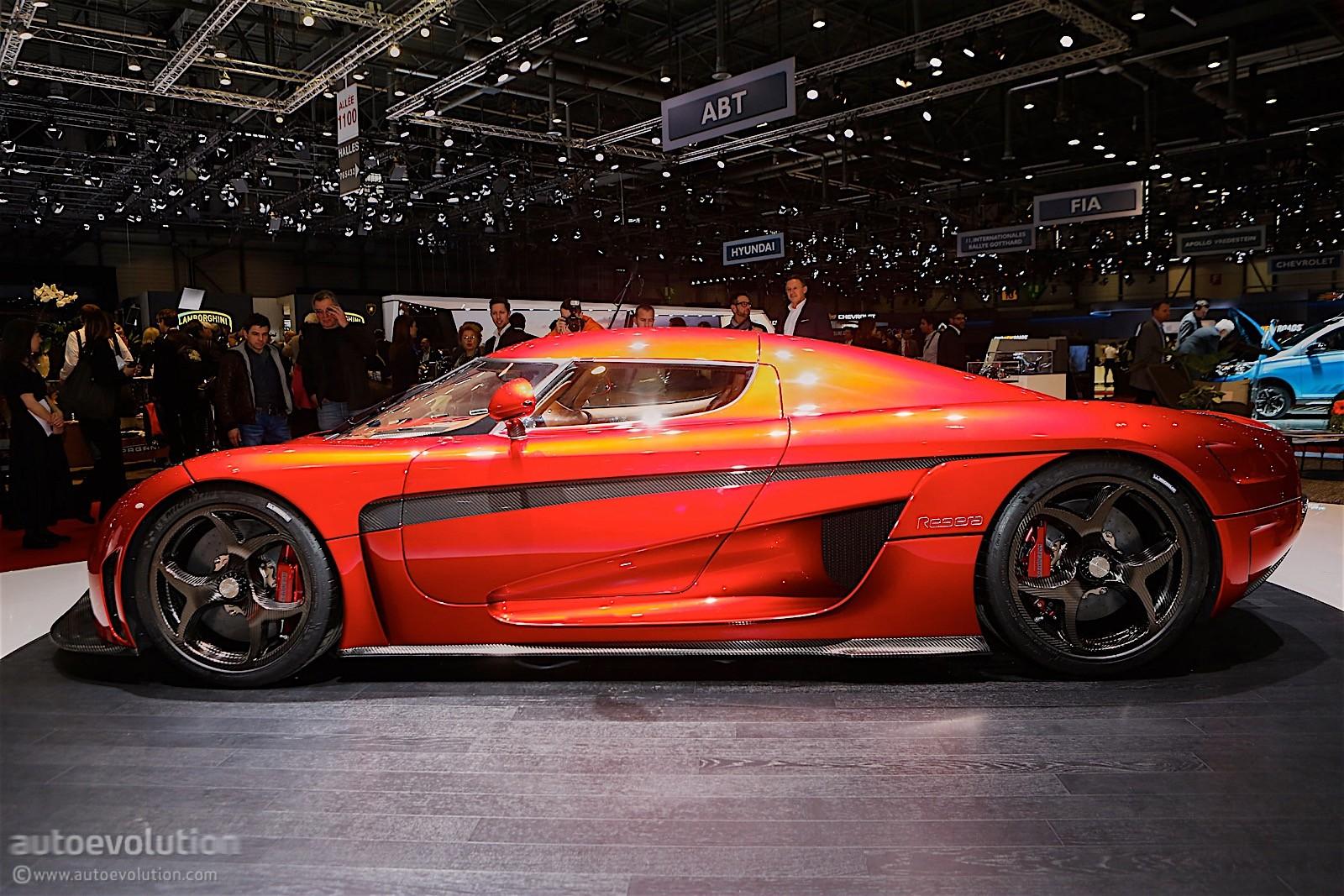 1 500 Hp Koenigsegg Regera Burnout No Gearbox