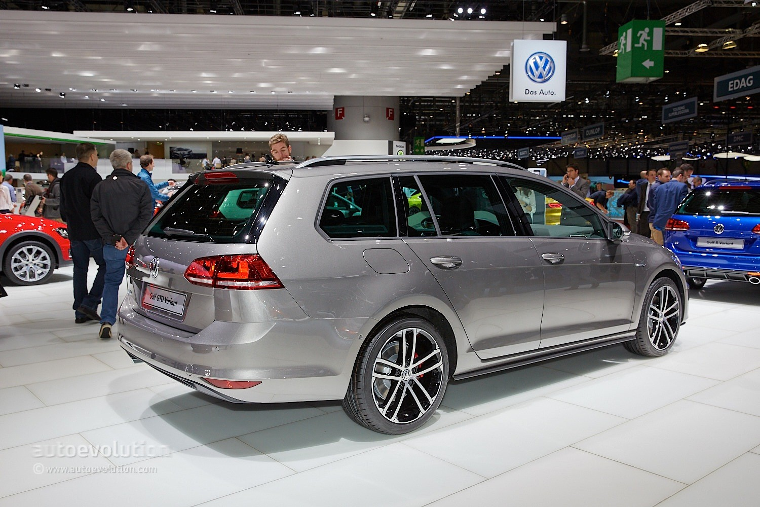 184 hp volkswagen golf gtd variant brings efficiency and space to geneva debut autoevolution. Black Bedroom Furniture Sets. Home Design Ideas