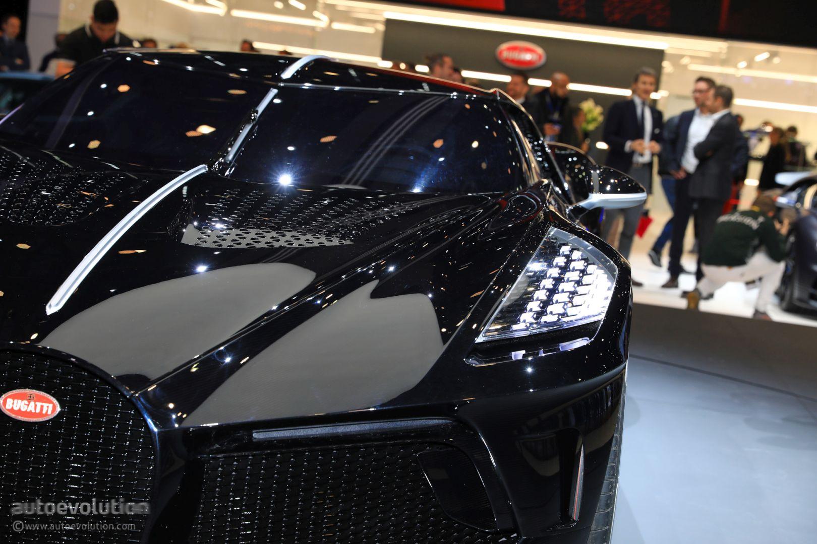 Update 19m Bugatti La Voiture Noire Geneva Car Is A