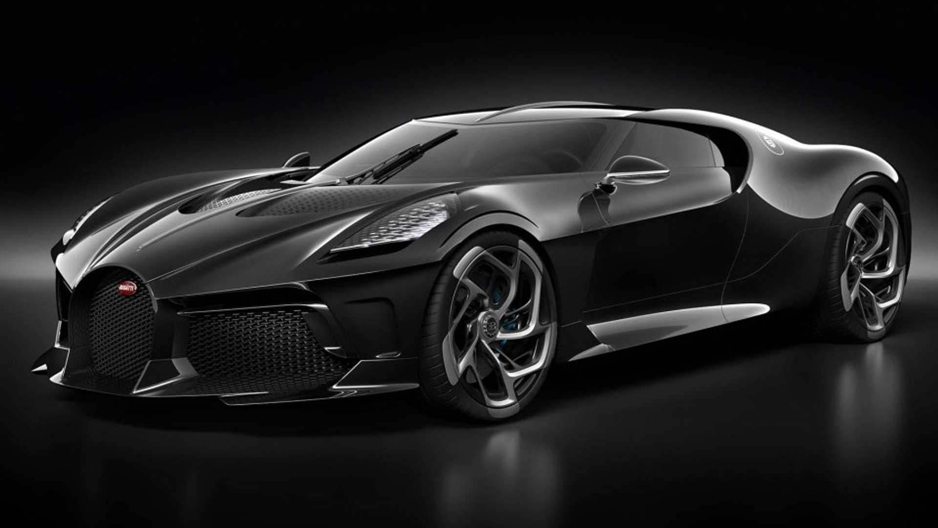 18 7m Bugatti La Voiture Noire Has A Dark Secret