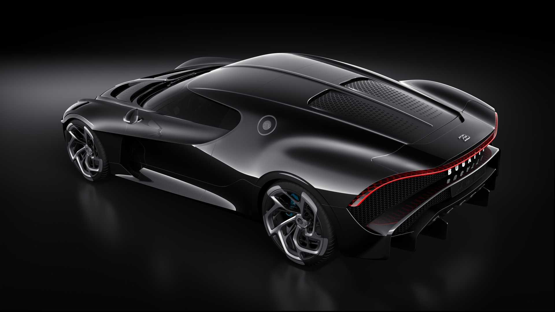 Bugatti La Voiture Noire: $18.7M Bugatti La Voiture Noire Has A Dark Secret