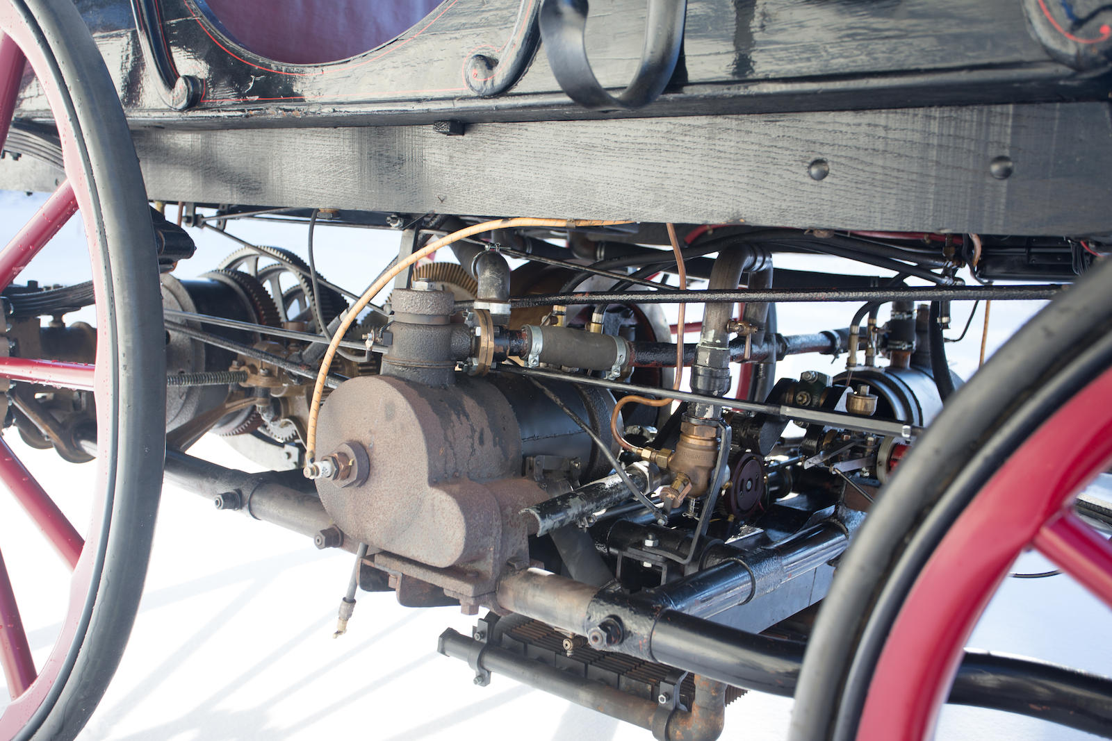 1896 Armstrong Phaeton Gasoline Electric Hybrid