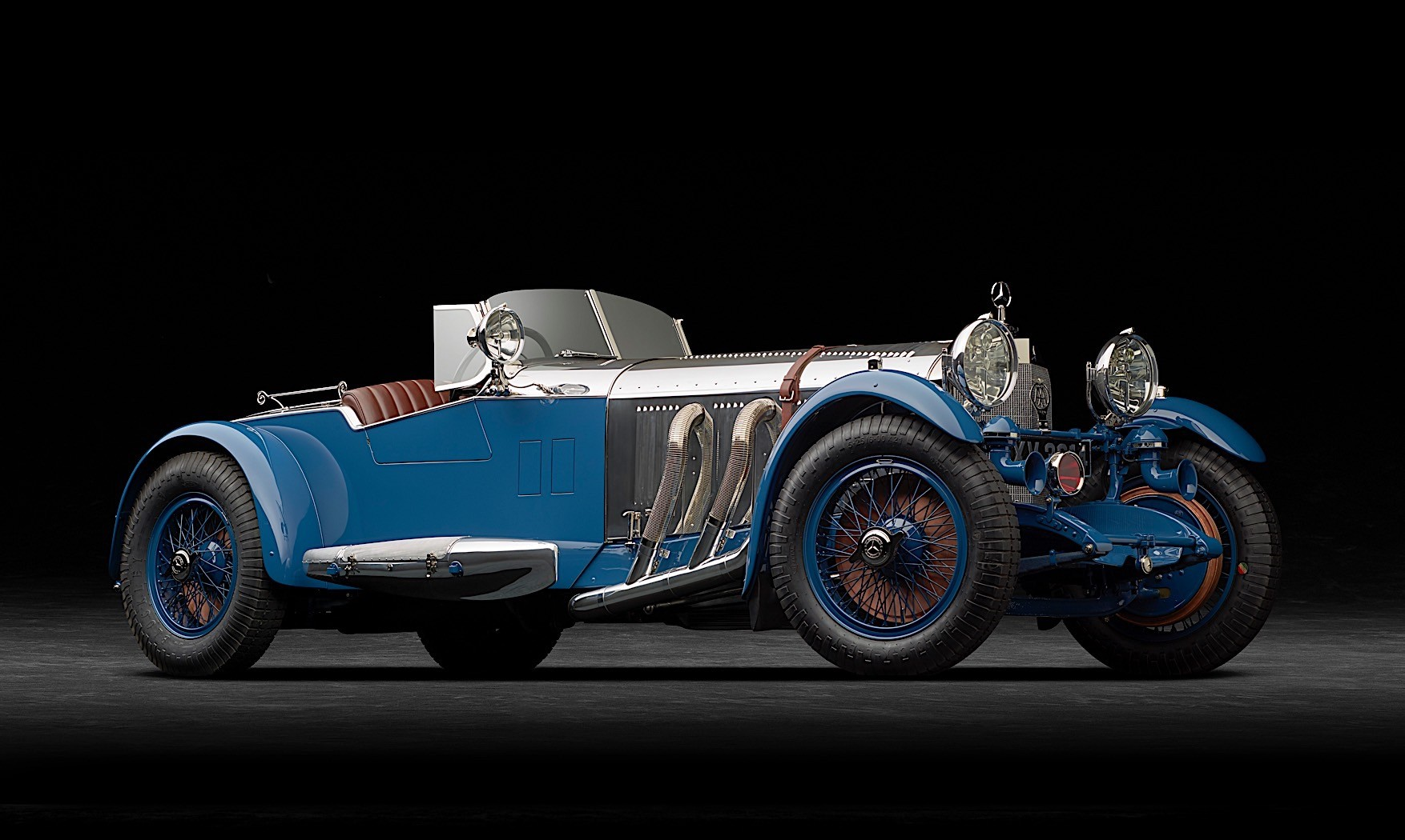 1929 mercedes benz s barker boat tail returns to its place for 1929 mercedes benz