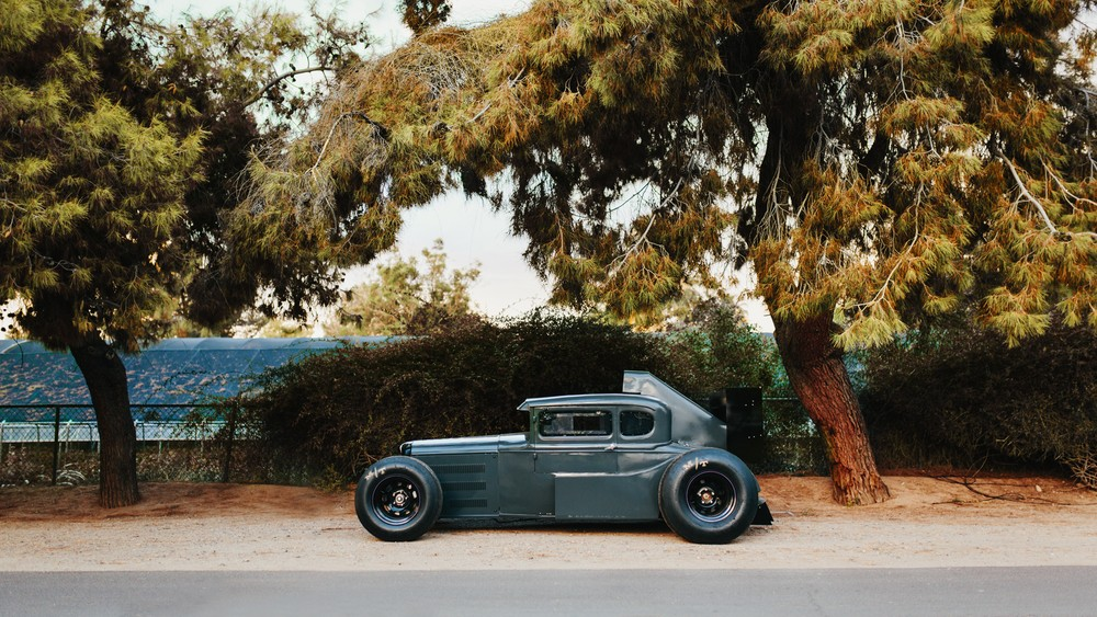 1930s Ford Model A Hot Rod Has F1 Aero Elements 9 000 Rpm
