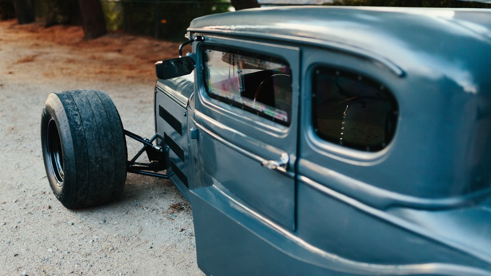 Ford Grand Tourneo Connect >> 1930s Ford Model A Hot Rod Has F1 Aero Elements, 9,000 RPM ...