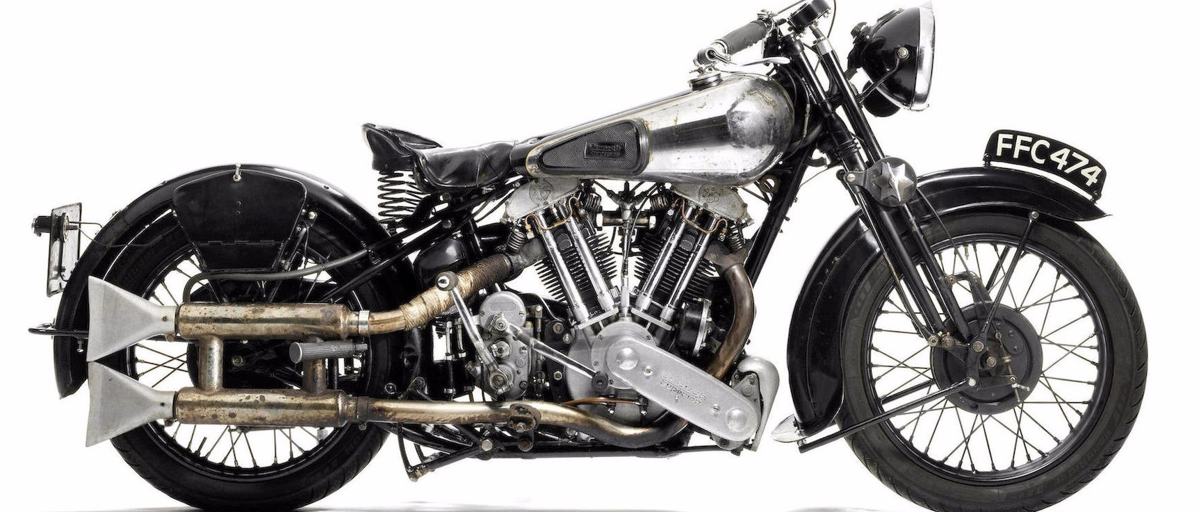 1936 Brough Superior Ss100 Still Touring The Uk Up For