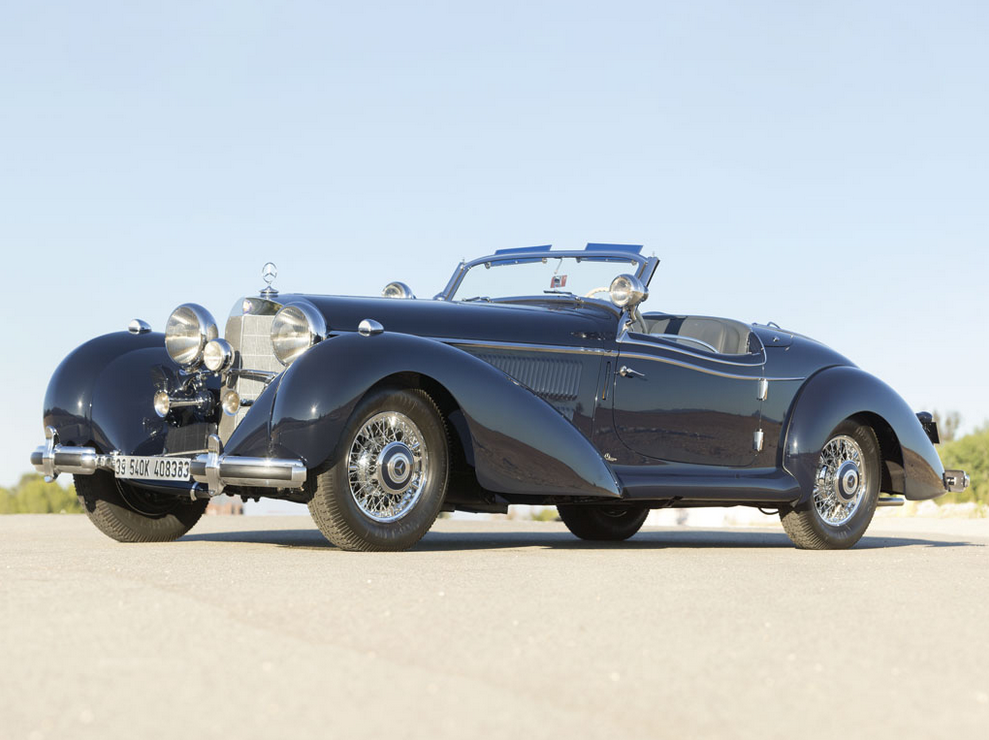 1939 Mercedes Benz 540k Spezial Roadster Goes For 7 5