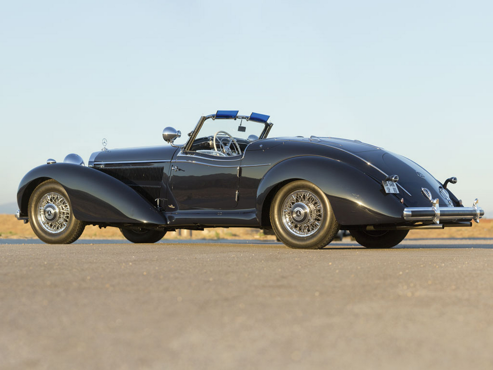 1939 mercedes benz 540k spezial roadster goes for 7 5 for 2 5 million mercedes benz