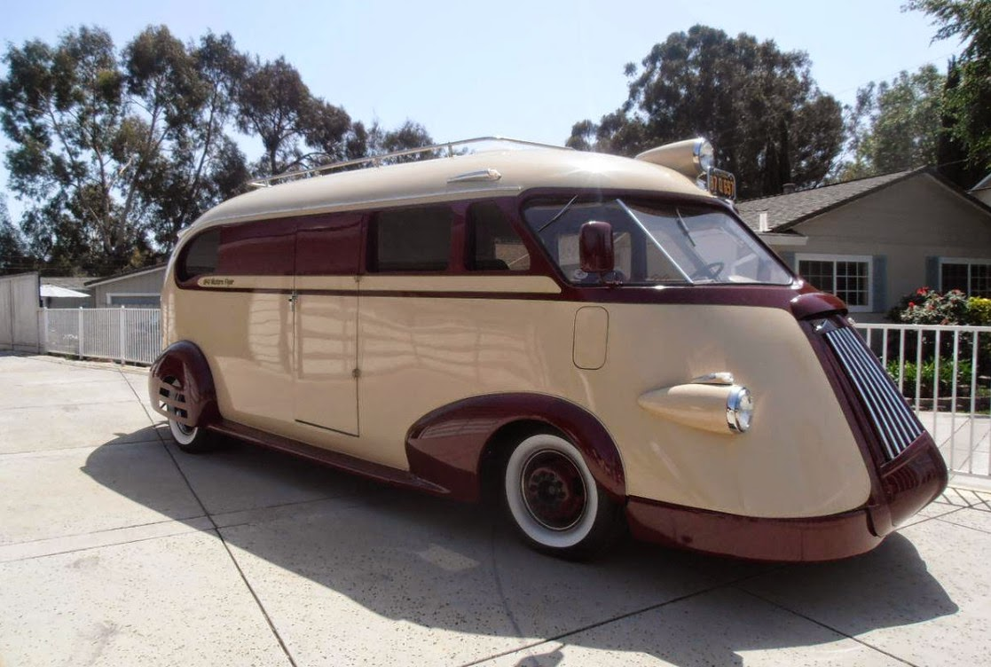 1941 Ford Western Flyer Is An Rv We D Love To Be Stuck