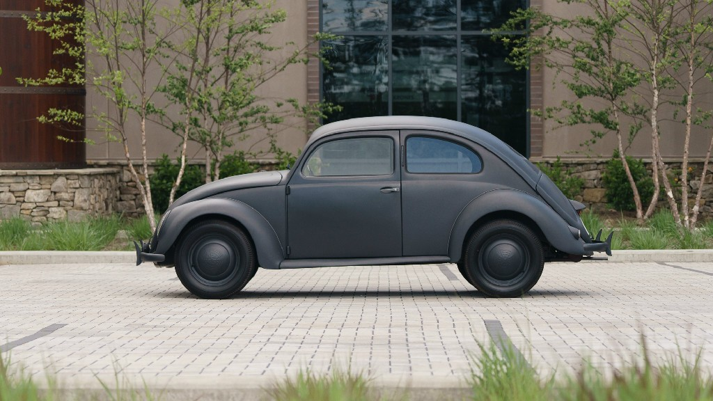 1943 KdF Wagen Type 60 Beetle Could Be Yours For Rolls-Royce Ghost Money - autoevolution
