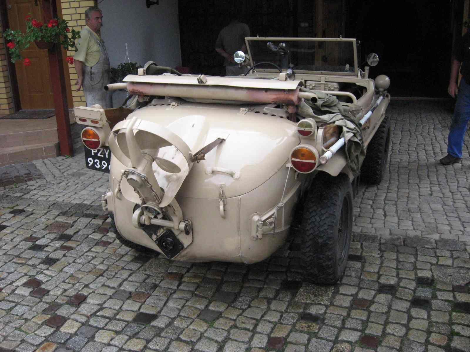 1943 Vw Schwimmwagen Wwii Amphibious Car For Sale