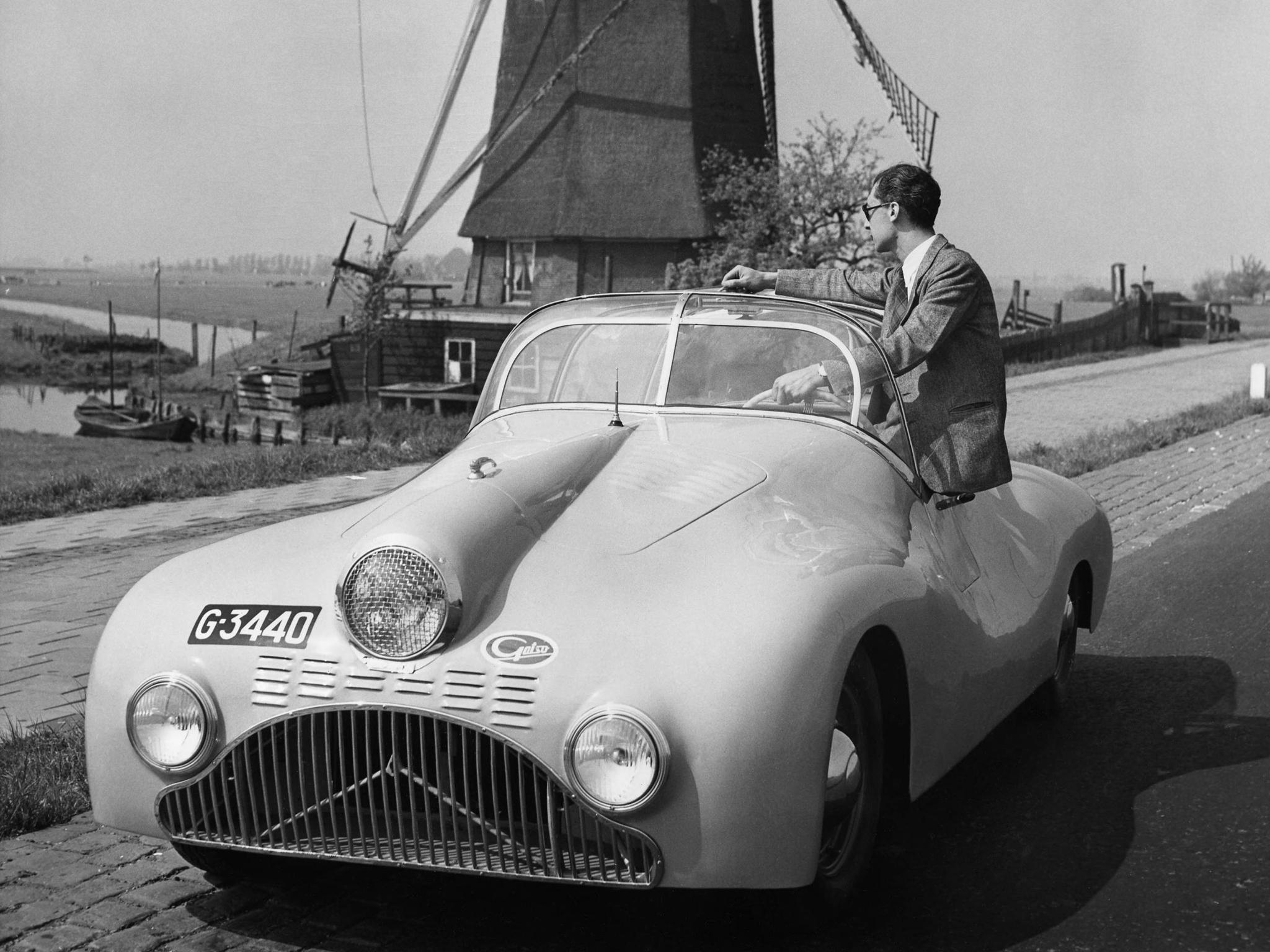 Gatso Sport A Headlight Ford V Custom From Holland