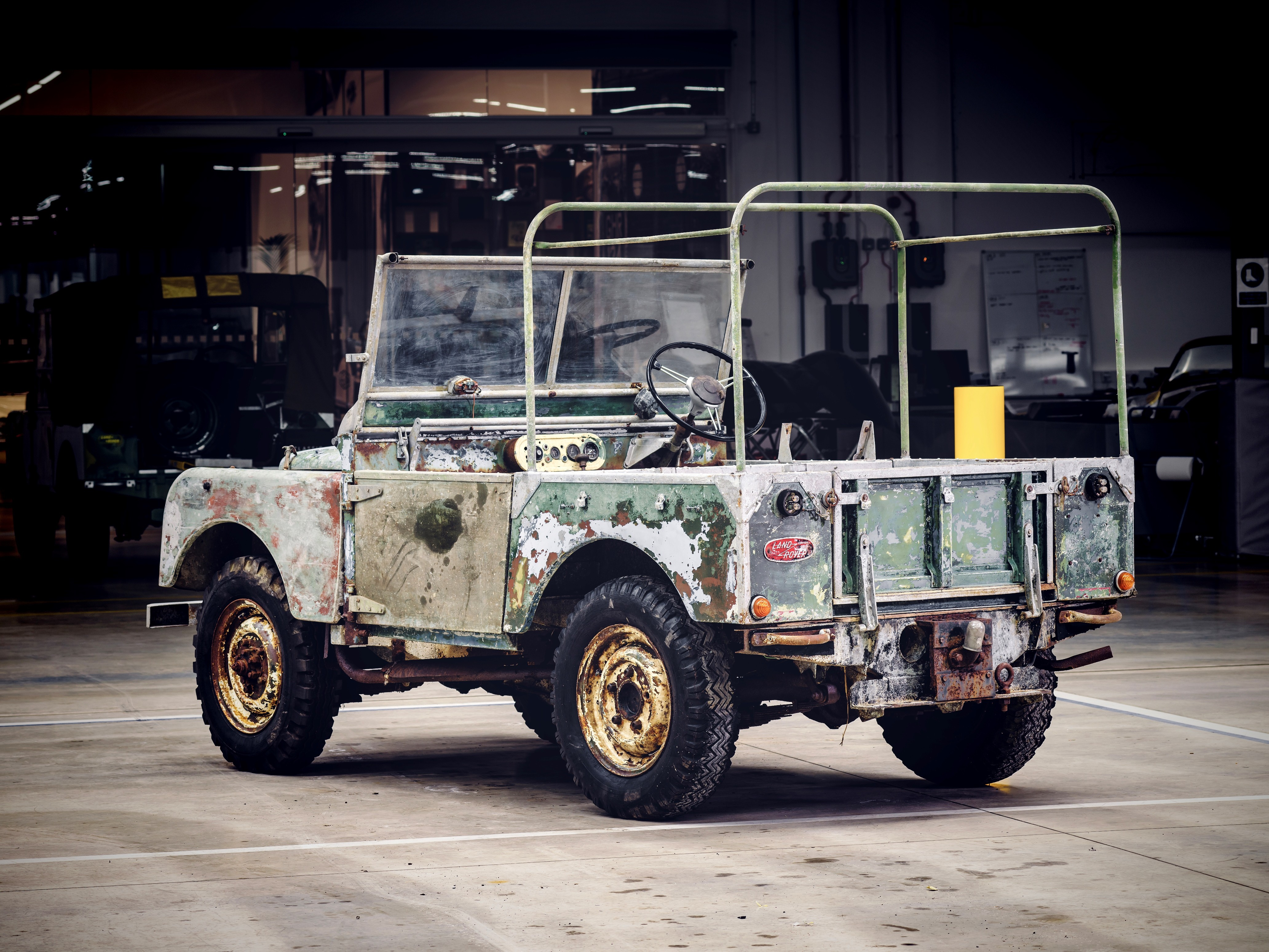 1948 land rover series i launch vehicle now under. Black Bedroom Furniture Sets. Home Design Ideas
