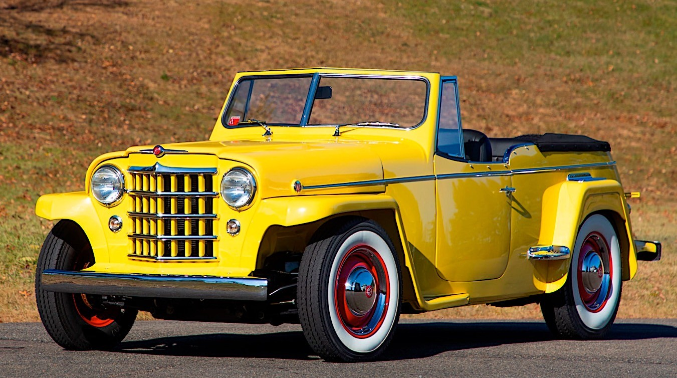 1950-willys-jeepster-is-the-bright-yello