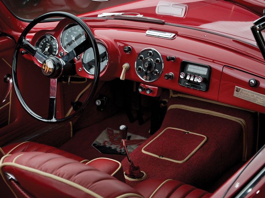 1953 aston martin db2/4 drophead coupebertone is classier than