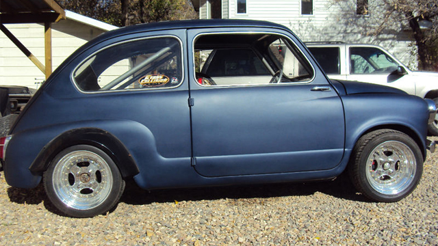 1955 Fiat 600 with Honda Motorcycle Engine For Sale on ...