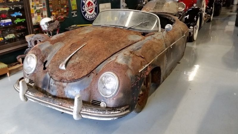 1955 Porsche 356 Speedster Barn Find Lands On Ebay But