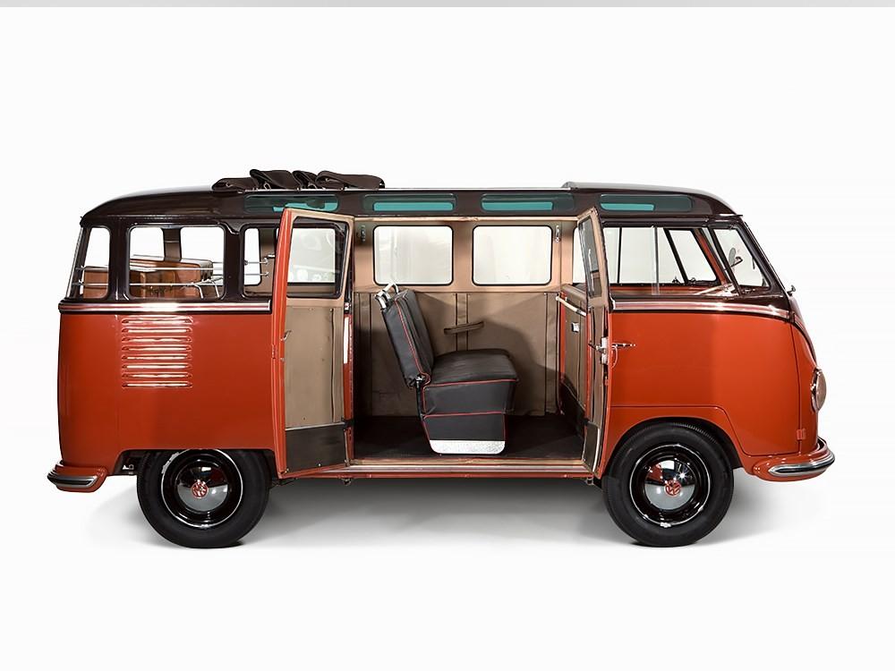 1955 Volkswagen Van Sold for 233k: Not Hippie - autoevolution