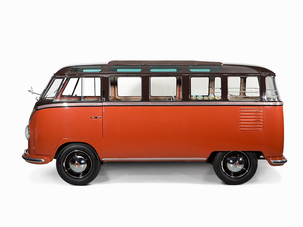 1955 Volkswagen Van Sold For 233k Not Hippie Autoevolution