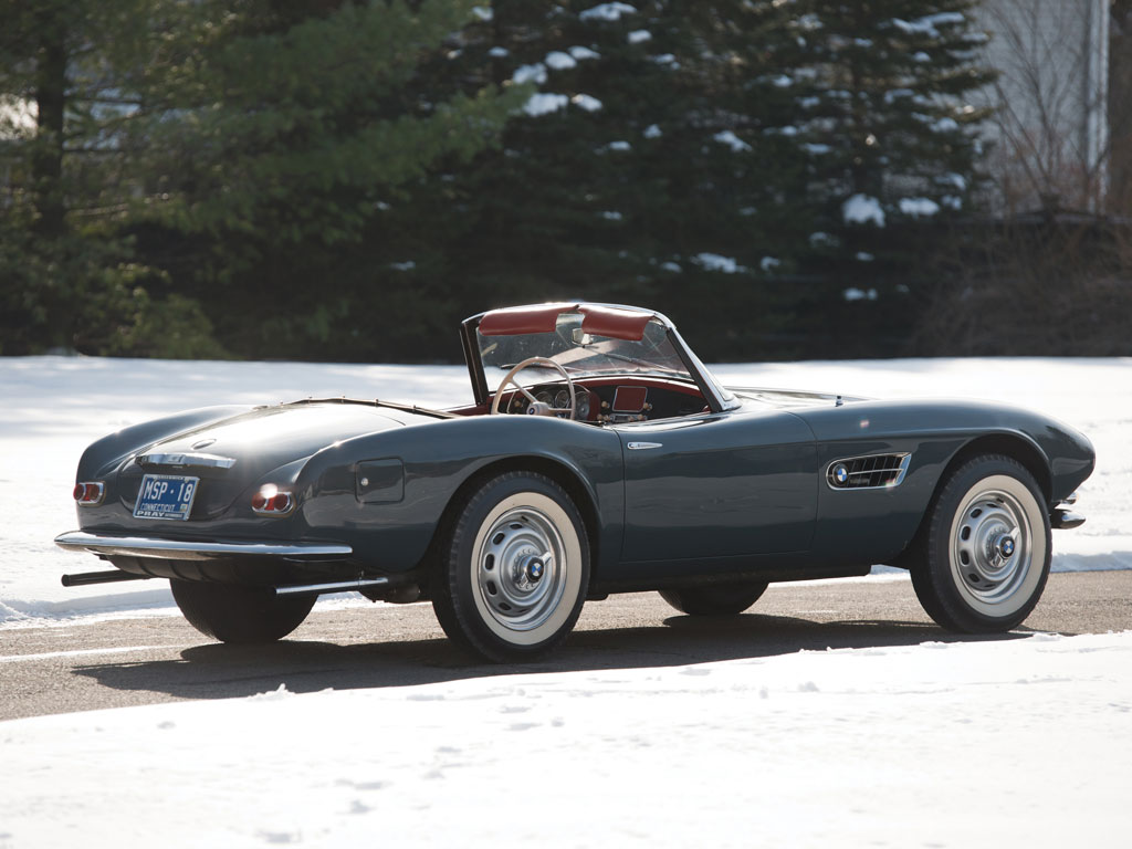 1958 Bmw 507 Series Ii Roadster Sold For Record 2 4
