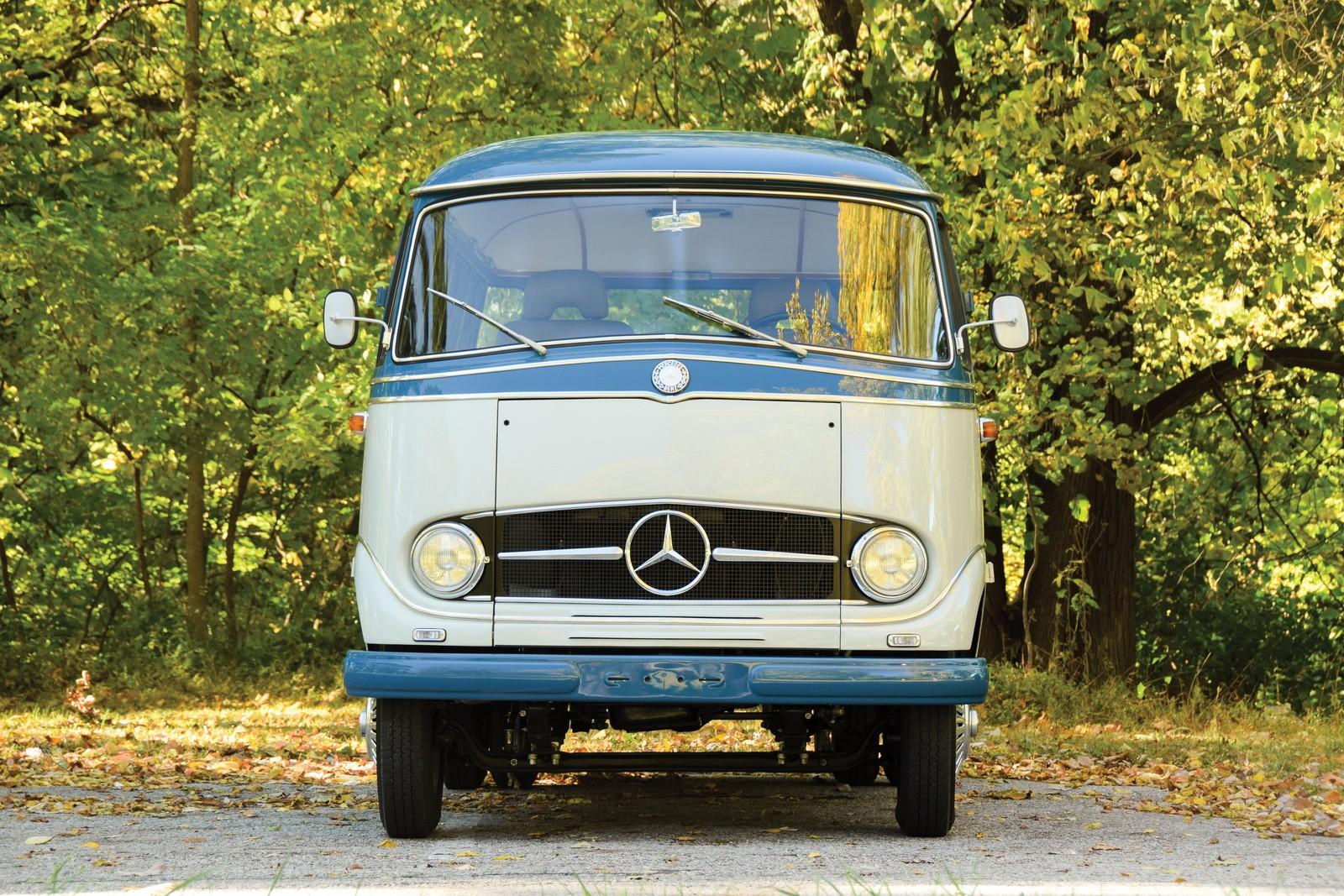 1959 Mercedes-Benz O 319 Camper Van Is Not Your Average ...