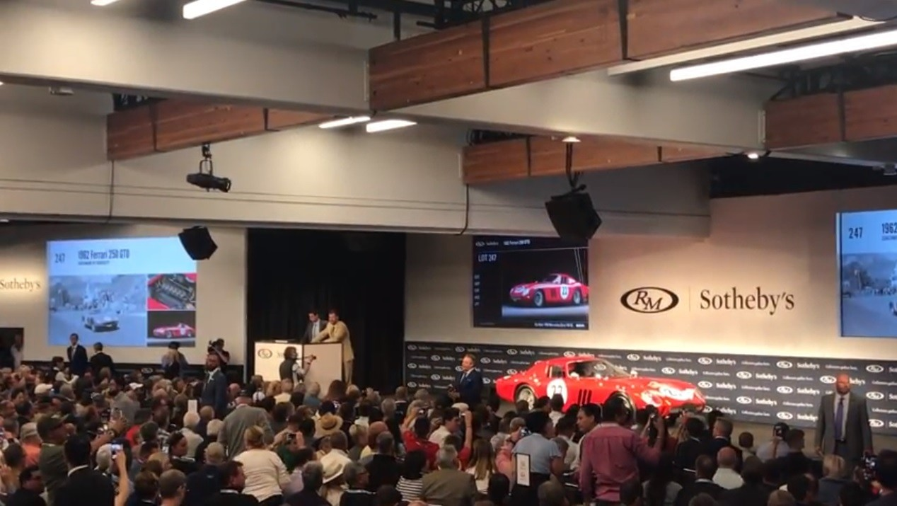 1962 Ferrari 250 Gto Breaks Record By Selling For 48 4