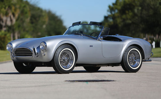 1963 Shelby 289 Cobra Auctioned Off For 825K Autoevolution