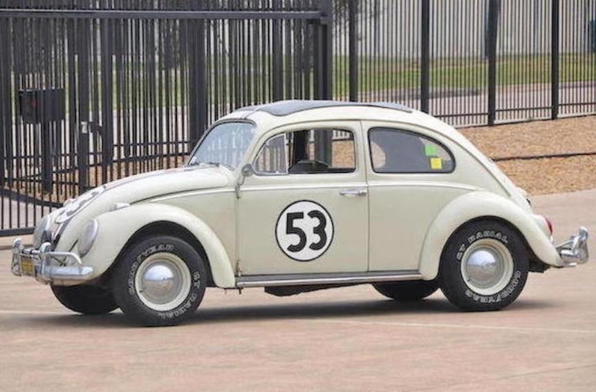 1963 volkswagen beetle quotherbiequot sells for an impressive