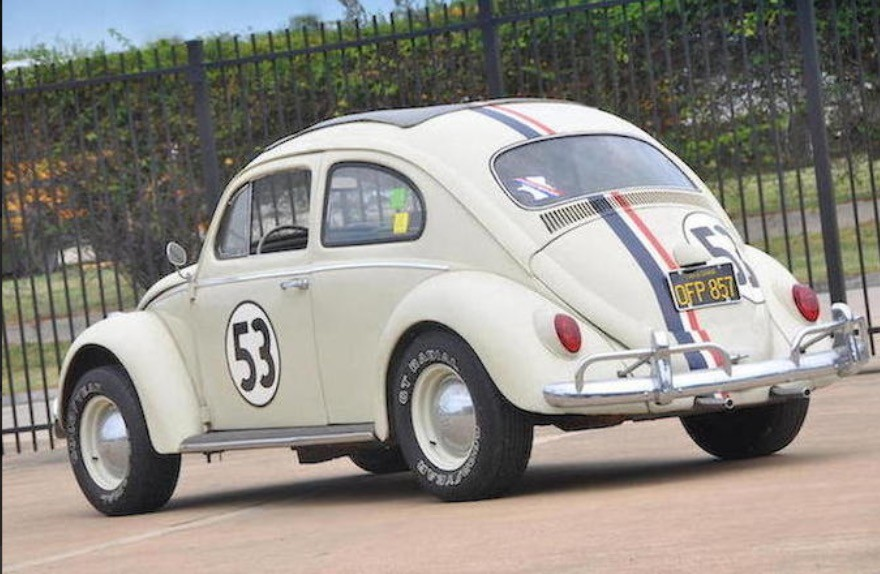 """1963 Volkswagen Beetle """"Herbie"""" Sells for an Impressive $86,250 at Auction - autoevolution"""