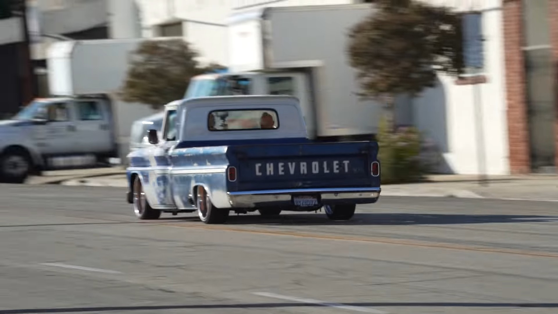 1964 Chevy C10 Long Bed Has Casual Patina Look Hides Ls3 And Clean Interior Autoevolution