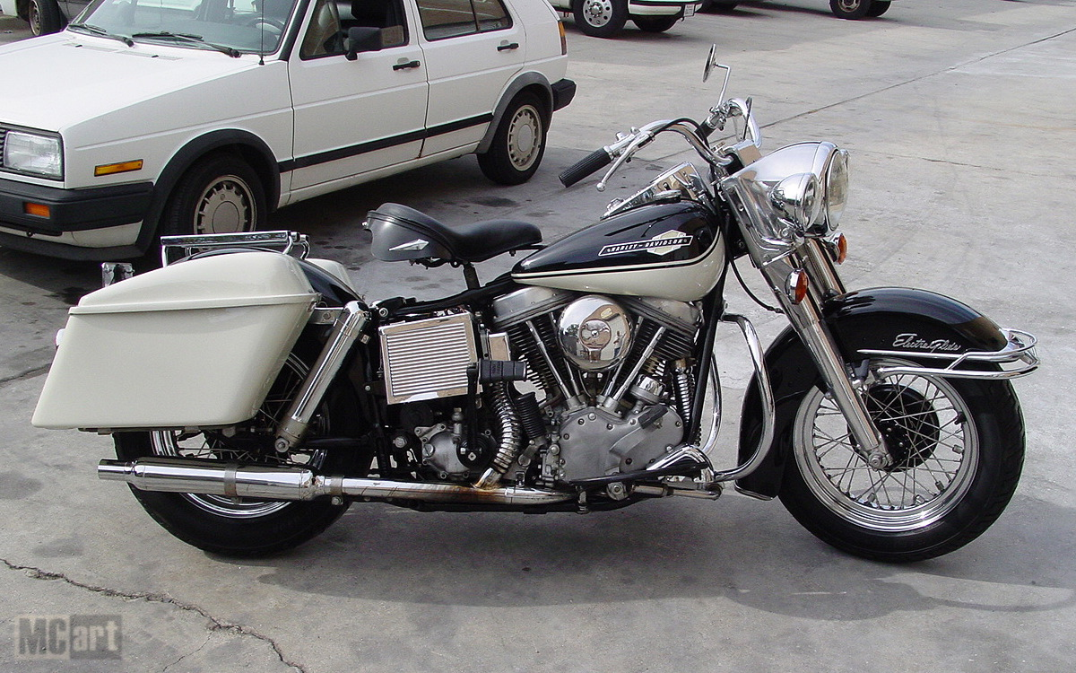 Police Harley Davidson Electra Glide Is Back From The Dead Photo Gallery on 1974 Harley Sportster