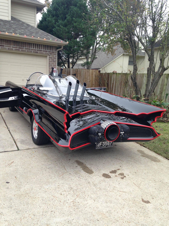 1966 Batmobile Replica Took 9 Years To Build Texan Batman