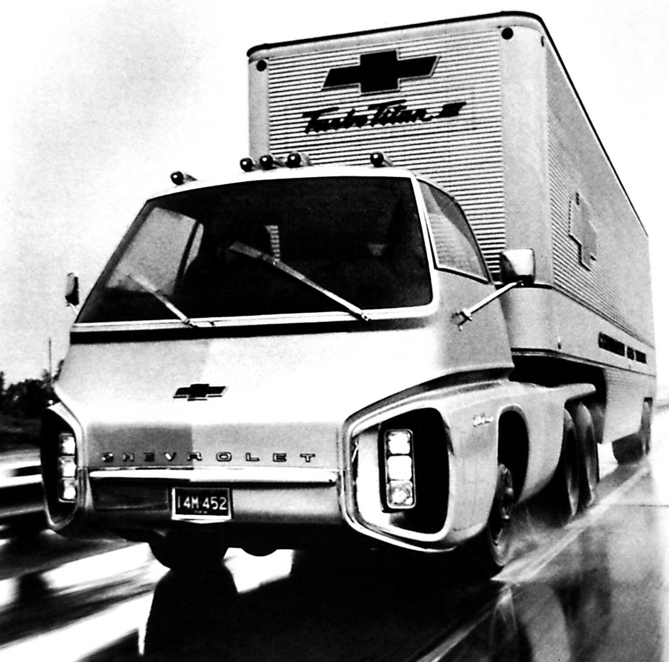 1966 Chevrolet Turbo Titan Iii Was Powered By A Gas