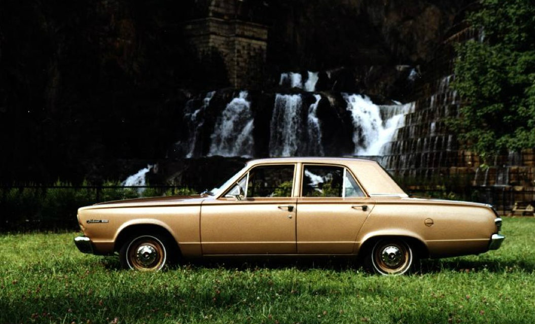 1966 Plymouth Valiant Is A Diamond In The Rough