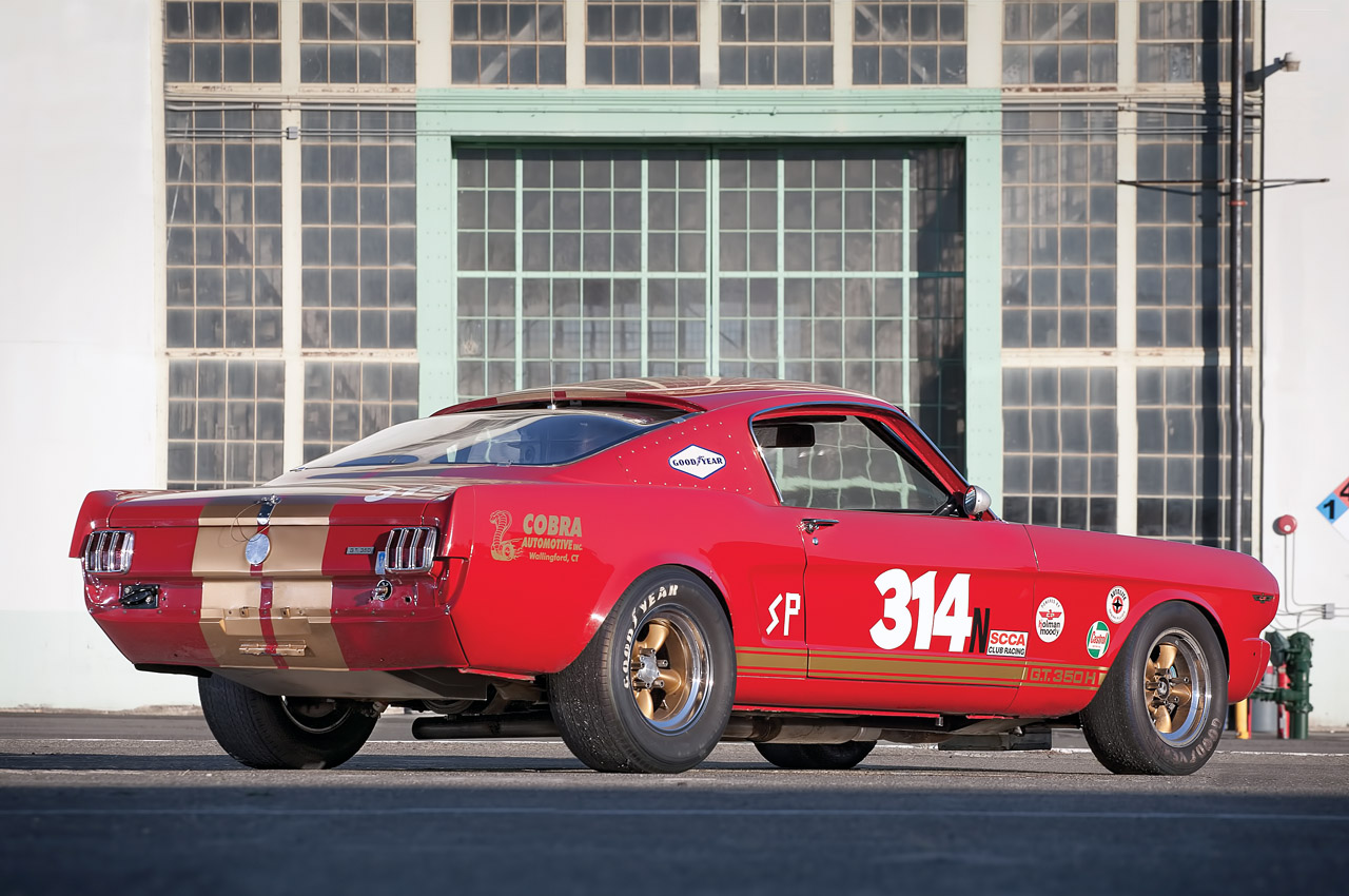1966 Shelby Gt350h Race Car Under The Hammer Autoevolution