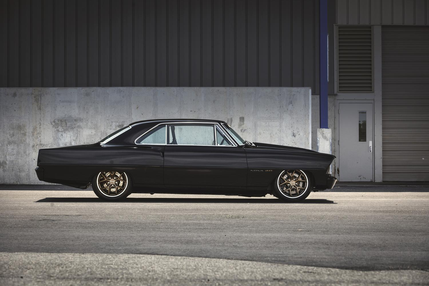 Chevy Nova With L Turbo Four Ltg Crate Engine Debuts At Sema No Thank You