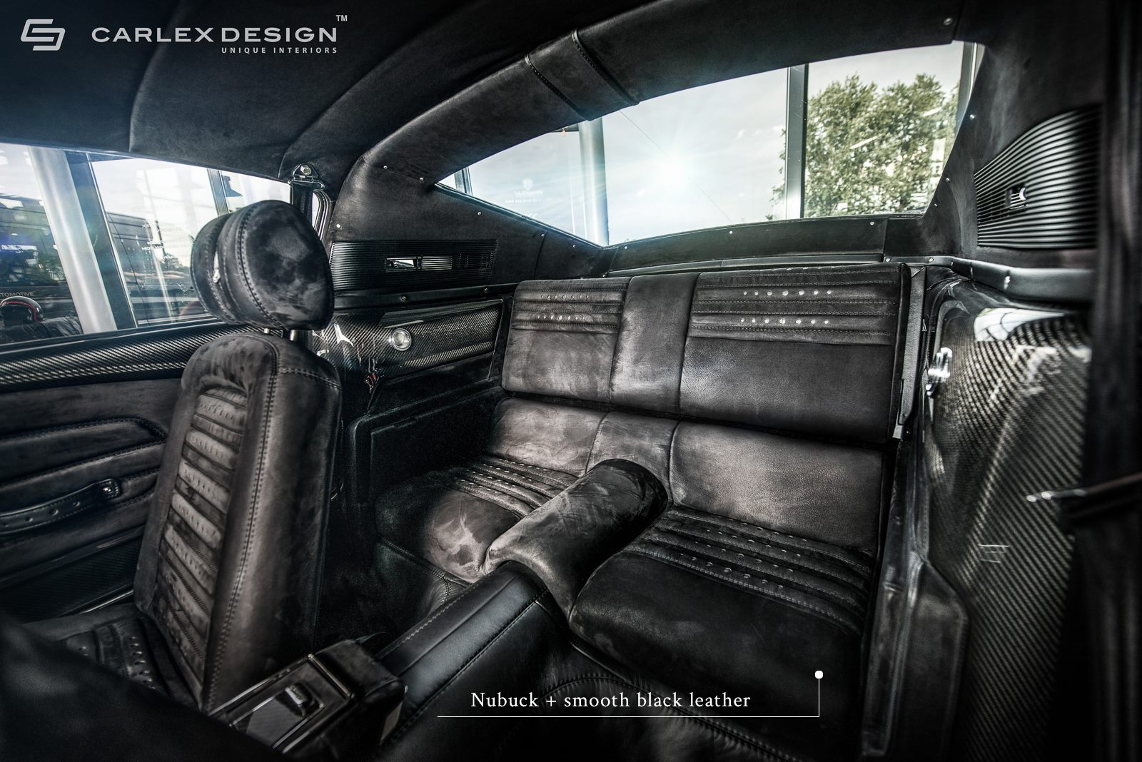 1967 Ford Mustang By Carlex Has Carbon Fiber And Alcantara Interior Autoevolution