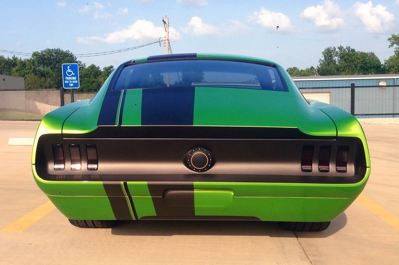 1967 ford mustang by the restomod store