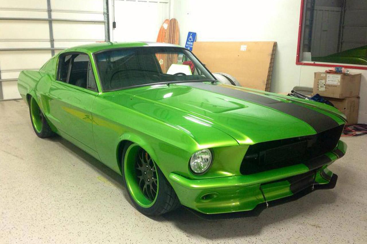 1967 Ford Mustang Restomod Looks Venomous Autoevolution