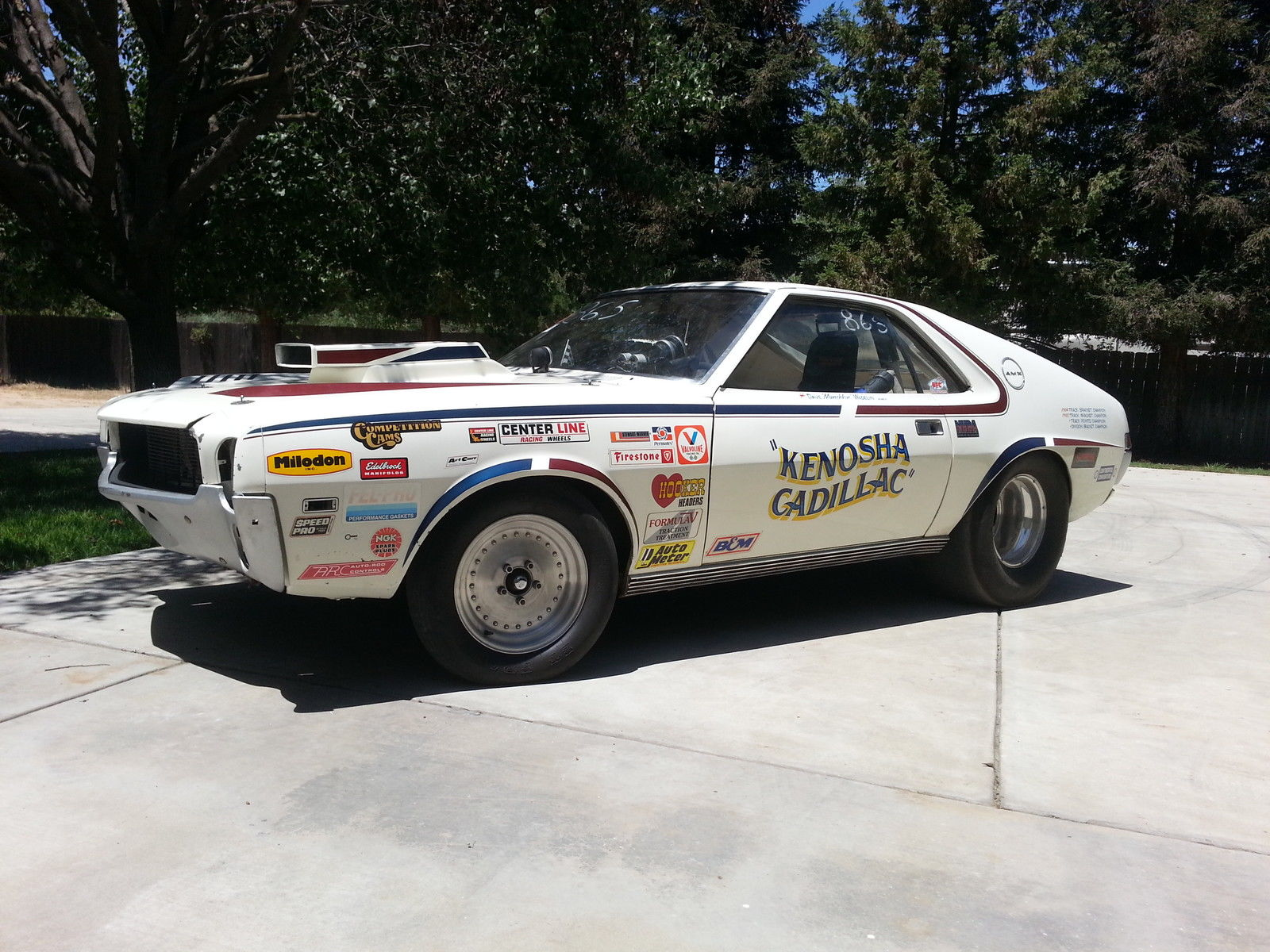 1968 Amc Amx Drag Racer Put Up For Sale On Ebay Could Be