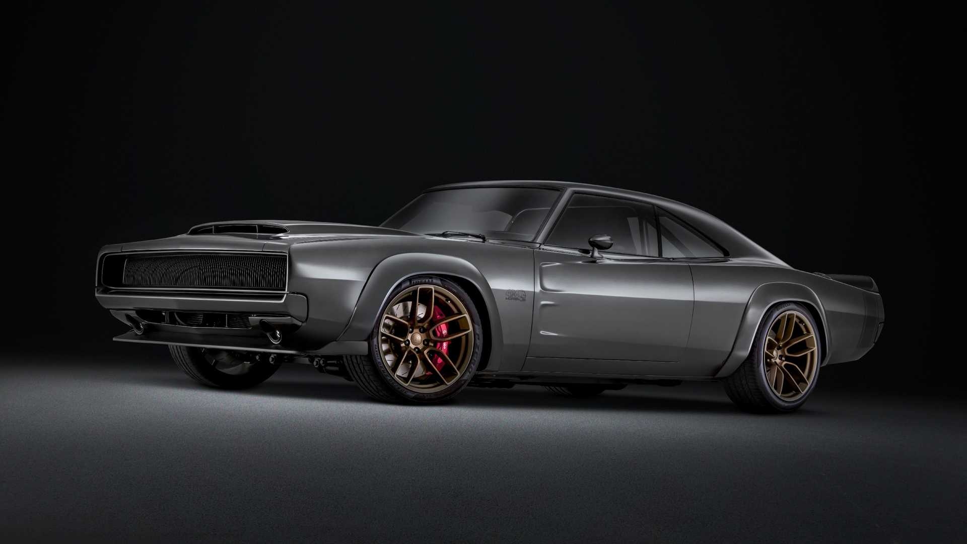 2018 Charger Demon >> 1968 Dodge Super Charger Debuts with 1,000 HP Hellephant Crate Engine - autoevolution