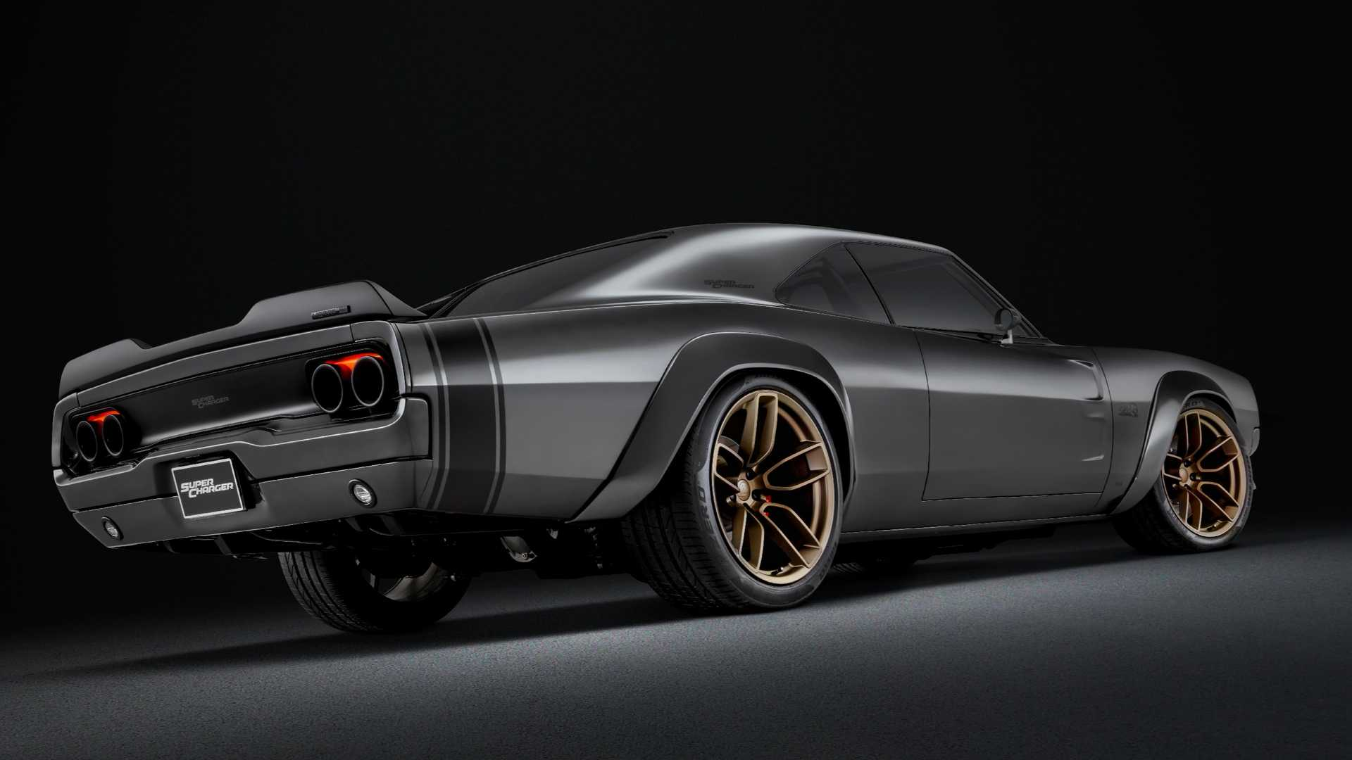 1968 Dodge Super Charger Debuts With 1 000 Hp Hellephant