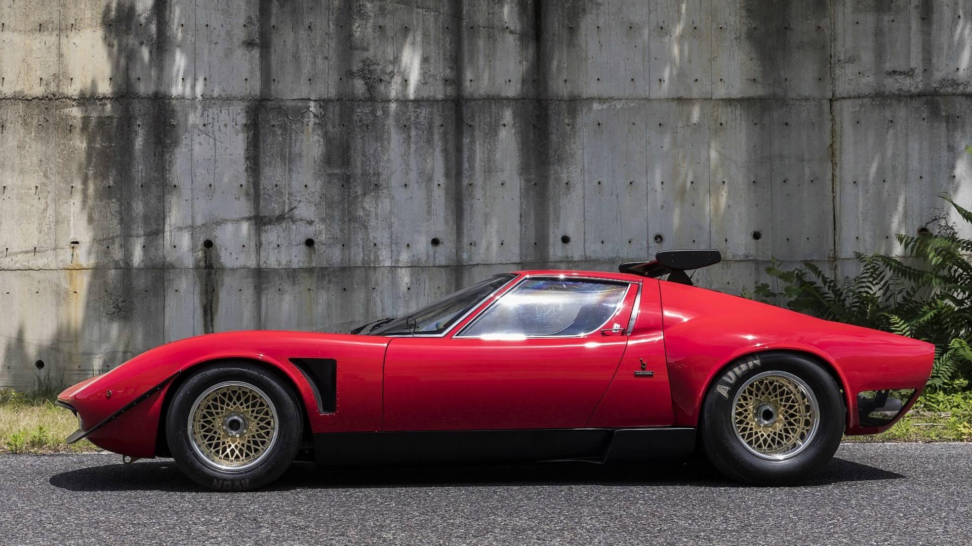 1968 Lamborghini Miura Svr Restored To Perfection By Polo Storico