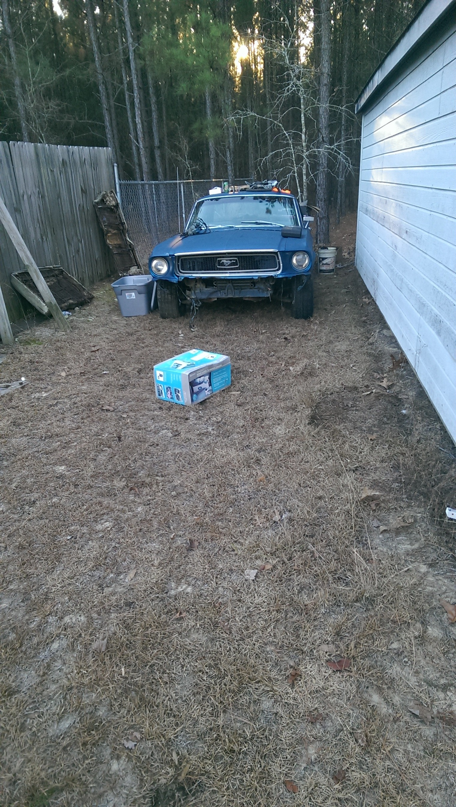 1968 Mustang Bought for $1,800 Makes for a Nice Christmas Present