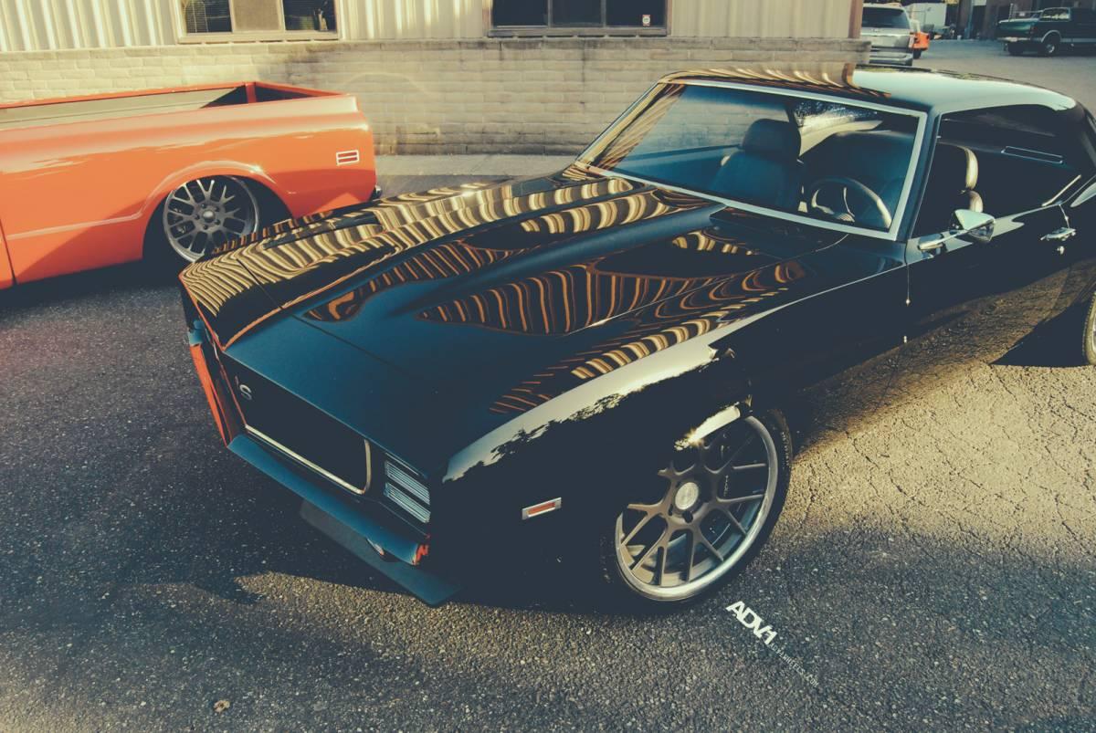 1969 Chevrolet Camaro On ADV1 Wheels
