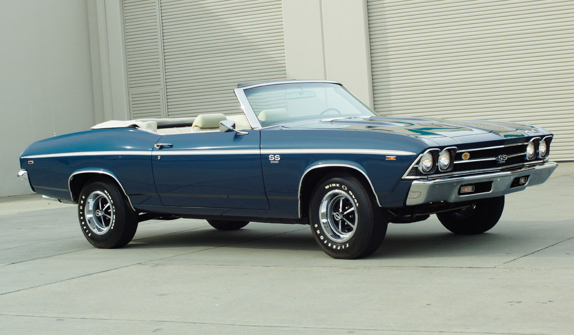 1969 Chevrolet Chevelle Ss Convertible Going Under The